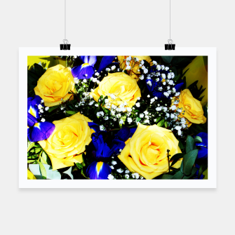 Thumbnail image of Roses Jaunes Affiche, Live Heroes