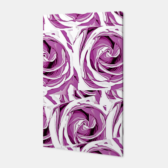 Thumbnail image of closeup pink rose texture pattern abstract background Canvas, Live Heroes