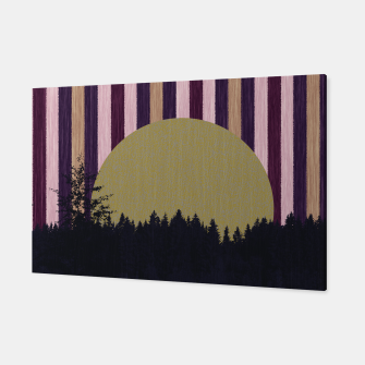 Thumbnail image of Forest and striped sky 2 Canvas, Live Heroes