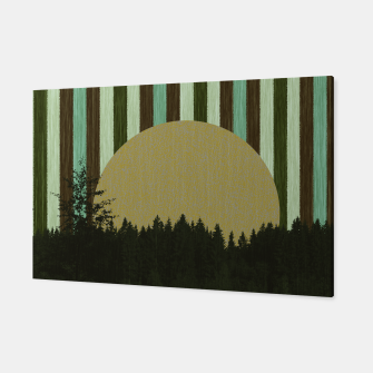 Thumbnail image of Forest and striped sky 3 Canvas, Live Heroes