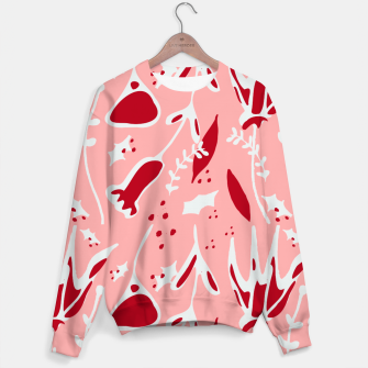 Thumbnail image of Winter floral pink Sweater, Live Heroes