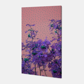Thumbnail image of Rowan tree and blue polka dots Canvas, Live Heroes