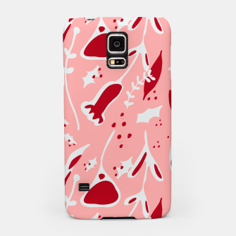 Thumbnail image of Winter floral pink Samsung Case, Live Heroes