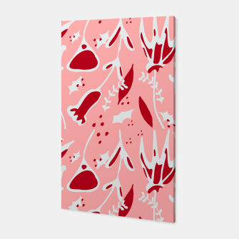 Thumbnail image of Winter floral pink Canvas, Live Heroes