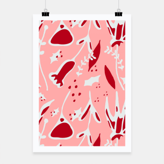 Thumbnail image of Winter floral pink Poster, Live Heroes