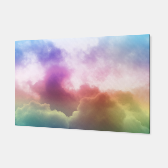 Thumbnail image of Rainbow clouds Canvas, Live Heroes