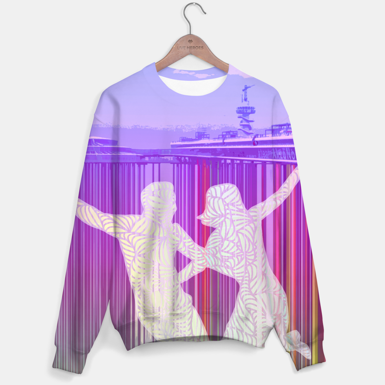 Image of ll Sweater - Live Heroes
