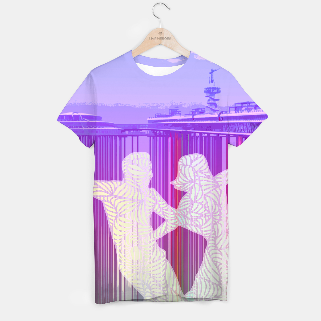 Image of ll T-shirt - Live Heroes