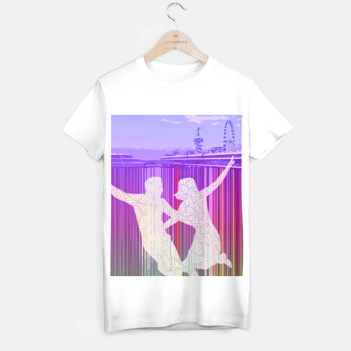 Image of ll T-shirt regular - Live Heroes