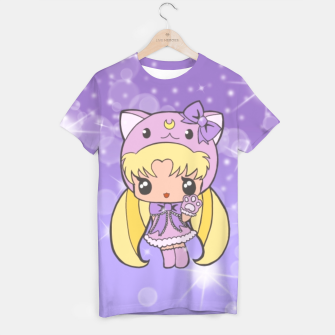 Miniatur Sailor Moon Cat  T-shirt, Live Heroes