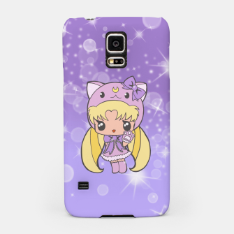 Miniatur Sailor Moon Cat  Samsung Case, Live Heroes