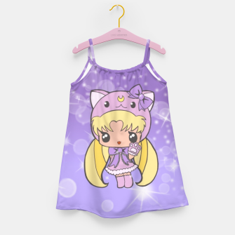 Sailor Moon Cat  Girl's Dress Bild der Miniatur