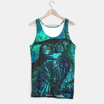 Thumbnail image of  Owls Blue Tank Top, Live Heroes