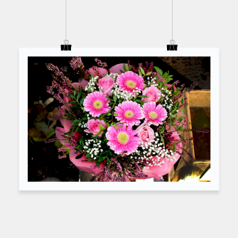 Thumbnail image of Fleurs roses Affiche, Live Heroes