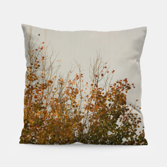 Thumbnail image of Signs of autumn Pillow, Live Heroes