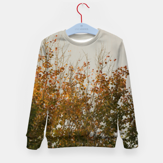 Thumbnail image of Signs of autumn Kid's Sweater, Live Heroes