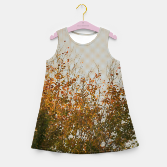 Thumbnail image of Signs of autumn Girl's Summer Dress, Live Heroes