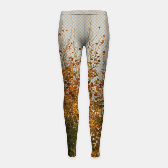 Thumbnail image of Signs of autumn Girl's Leggings, Live Heroes