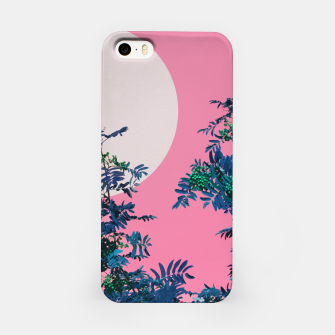 Thumbnail image of Rowan tree and pink sky iPhone Case, Live Heroes