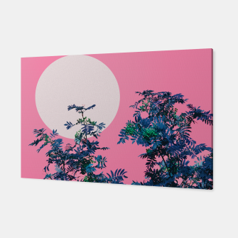 Thumbnail image of Rowan tree and pink sky Canvas, Live Heroes