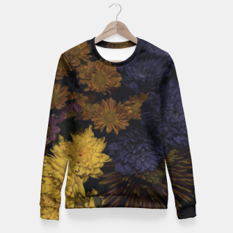 Thumbnail image of Flowers Fitted Waist Sweater, Live Heroes