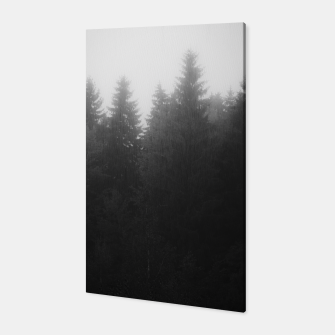 Thumbnail image of Foggy dark forest Canvas, Live Heroes