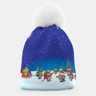 Thumbnail image of Hedgehogs Christmas Party Beanie, Live Heroes