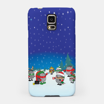 Thumbnail image of Hedgehogs Christmas Party Samsung Case, Live Heroes