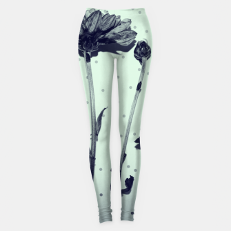 Thumbnail image of Flowers and polka dots 2 Leggings, Live Heroes