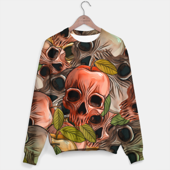 Thumbnail image of Apple Skull Sweater, Live Heroes