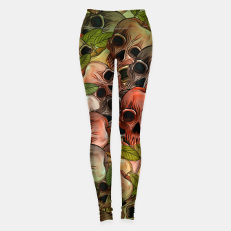 Thumbnail image of Apple Skull Leggings, Live Heroes