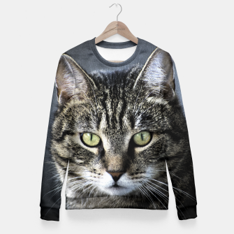 Thumbnail image of Cat Fitted Waist Sweater, Live Heroes