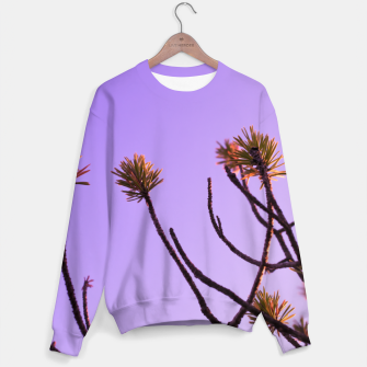 Miniaturka Pine tree branches Sweater, Live Heroes