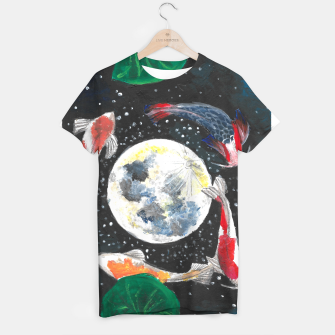 Thumbnail image of The moon  T-shirt, Live Heroes