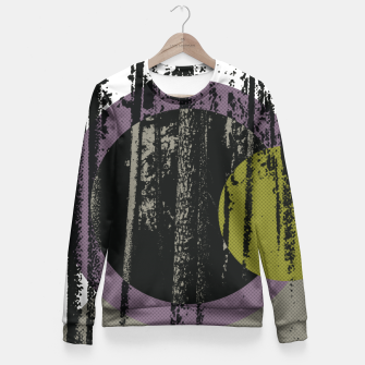 Thumbnail image of Abstract woods Fitted Waist Sweater, Live Heroes