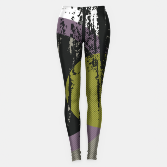 Thumbnail image of Abstract woods Leggings, Live Heroes