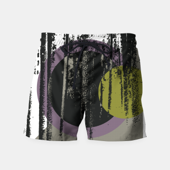 Thumbnail image of Abstract woods Swim Shorts, Live Heroes