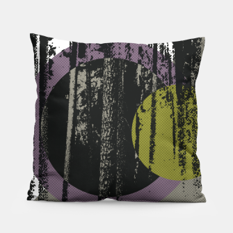 Thumbnail image of Abstract woods Pillow, Live Heroes