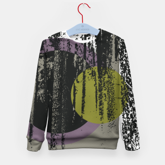 Thumbnail image of Abstract woods Kid's Sweater, Live Heroes