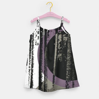 Thumbnail image of Abstract woods Girl's Dress, Live Heroes