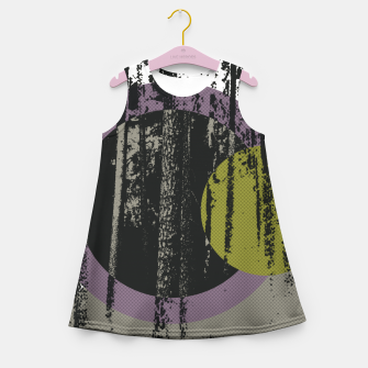 Thumbnail image of Abstract woods Girl's Summer Dress, Live Heroes