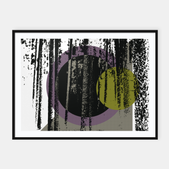 Thumbnail image of Abstract woods Framed poster, Live Heroes