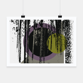Thumbnail image of Abstract woods Poster, Live Heroes