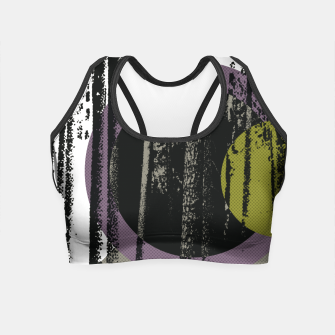 Thumbnail image of Abstract woods Crop Top, Live Heroes