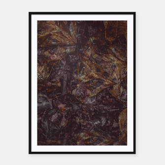 Miniatur Autumn Framed poster, Live Heroes