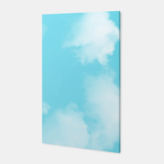 Thumbnail image of Aqua Blue Sky Canvas, Live Heroes