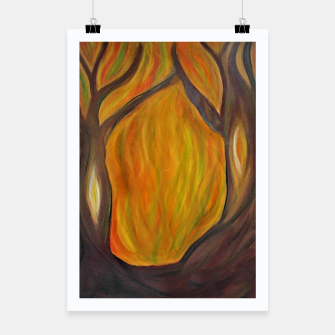Thumbnail image of  autumn - entrance to the forest Plakat, Live Heroes