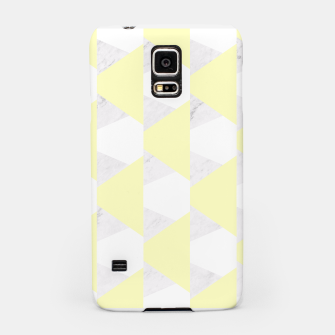 Thumbnail image of Yellow White Gray Geometric Pattern Samsung Case, Live Heroes