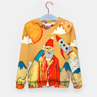 Thumbnail image of Freestyle Santa Kid's Sweater, Live Heroes