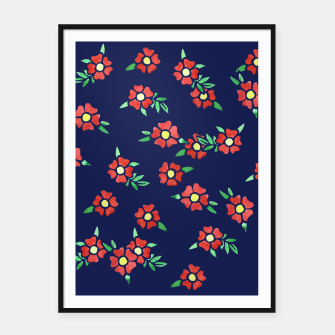 Thumbnail image of Flowers Framed poster, Live Heroes
